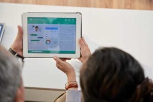 Telemonitoring health app